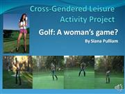 REC 3202 PPT LEISURE PROJECT