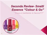 Seconda Review- Smalti Essence