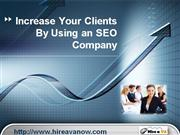 SEO Company and Local SEO