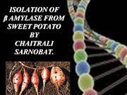 enzyme characterisation