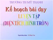 Luyen tap (Dien tich hinh tron)