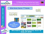 noida sector 77 new residential project elite homz