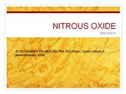 nitrous oxide use in labour