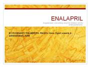 use of enalapril in puerperium