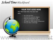 GLOBE EDUCATION BLACKBOARD POWERPOINT SLIDES