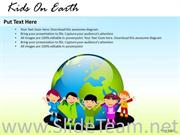 EVENTS KIDS ON EARTH POWERPOINT SLIDES