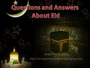 questions and Answers about Eid