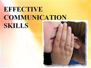 EFFECTIVE COMMUNICATION SKILLS VILLA