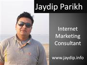 Visual Resume of Internet Marketing Consultant