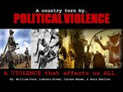 liberia: a country torn by political violence