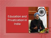Education and Privatization