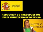 RECORTE DE PRESUPUESTOS.