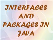INTERFACE AND PACKAGES