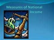 Measures of National Income