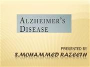 Alzheimer's Intrduction