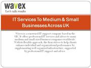 it services to medium & small businesses across uk