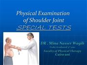 shoulder special tests