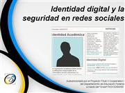 Identidad  digital y la seguridad en redes sociales