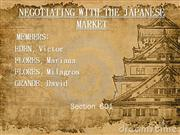 Negotiating with the japanese market[1]