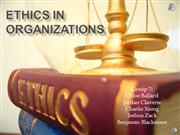 ethics for acct 202