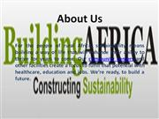Green Buildings in Africa
