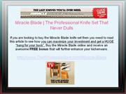 Buy Miracle Blade Knives for an Unparalleled Cutting Experience