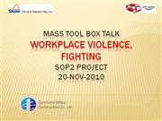 Mass Tool Box Talk on Fighting_sample