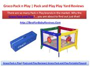 Pack n Play Playard Reviews | Graco Pack and Play Play Yard