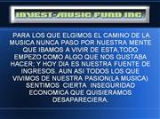 MUSICOS CON INTELIGENCIA FINANCIERA