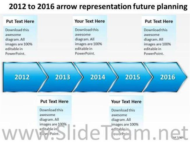 Timeline arrow representation future planning ppt slides related powerpoint templates toneelgroepblik