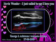 I Just called to say I love you-Stevie Wonder
