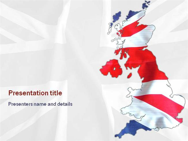 Union jack uk powerpoint template authorstream toneelgroepblik Image collections