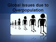 Issues due to overpopulation