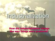 1-Industrialization
