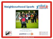 Neighbourhood Sports Update - Nov10