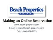 Book Your Hilton Head Vacation Rental Online !