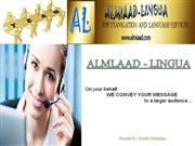 Service for Arabic Voice Over Translator and Voice Over Dubbing
