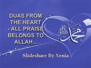 Duas from the Heart