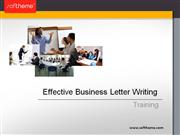 Training: Effective Business Letter Writing