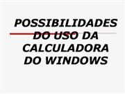 ProInfo Integrado 2008 - Nordeste - Uso da calculadora do Windows