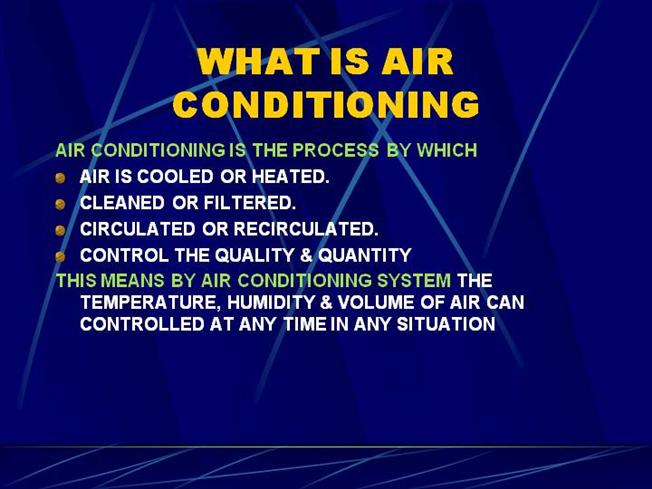 Basics for Air Conditioning |authorSTREAM
