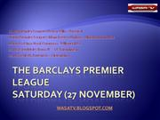 The Barclays Premier League