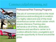 How to Become a Commercial Pilot