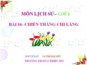 16 chien thang chi lang