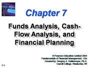 fund flow cash flow statements