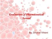 Evaluation of pharmaceutical aerosol final