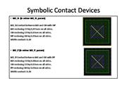 Symbolic Contact Devices