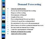 Demand Forecasting-ME