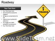 EDITABLE ROAD SIGNS POWERPOINT SLIDES