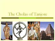 The Cholas of Tanjore